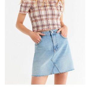 BDG jeans skirt, size L